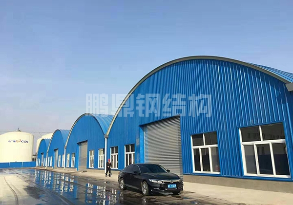 厂房金属拱形屋盖