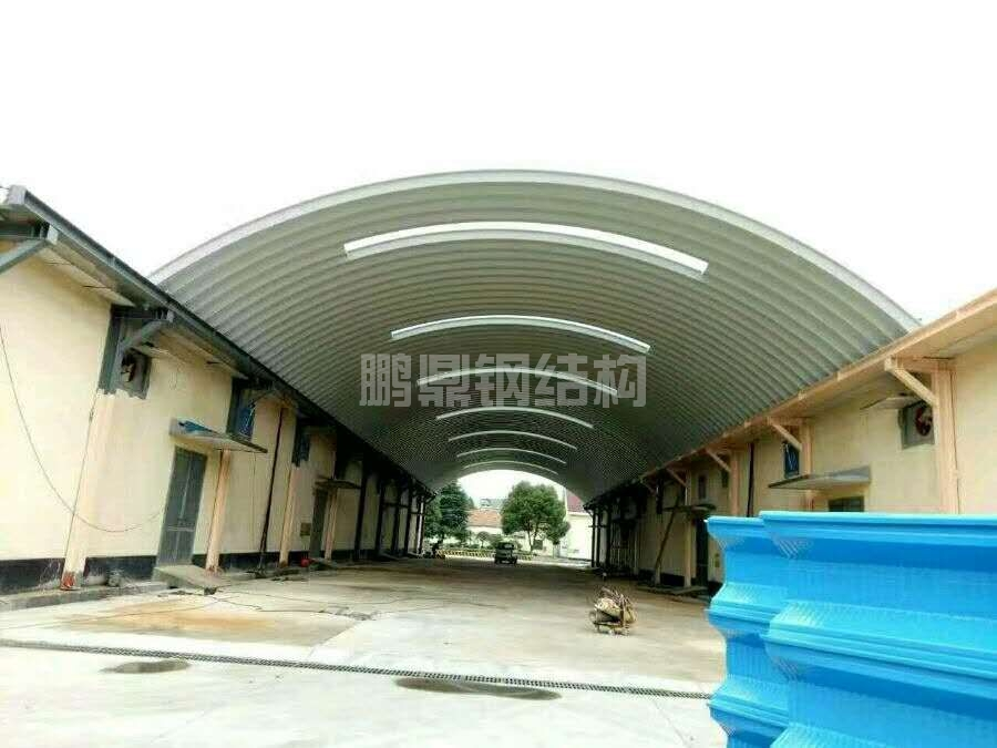 安徽芜湖金属波纹拱形屋顶