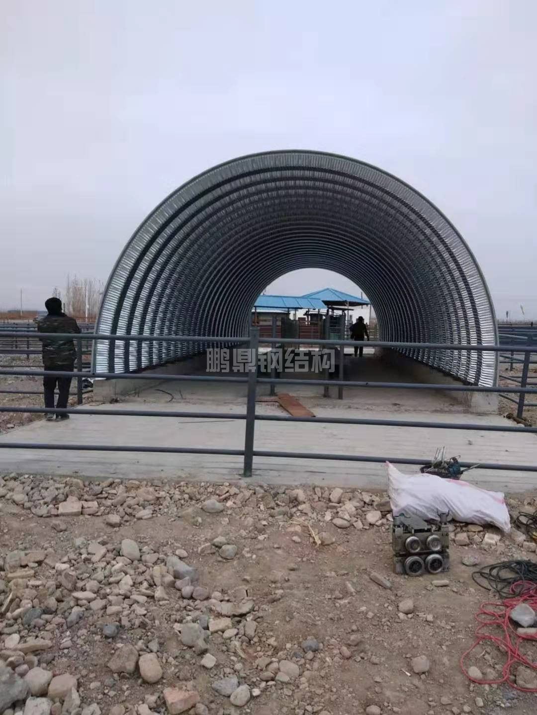 河南金属拱型屋顶工程